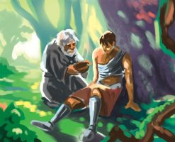 light and color study by earthwormnistic