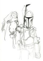 boba/jar jar sketch by mastaczajnik