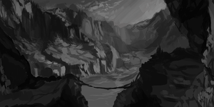 Environment Study WIP by Wulfghast