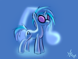 Vinyl Scratch by Alumx