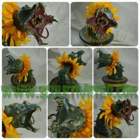 Mutant Carnivorous Sunflower Plant pic 2 by Batty87