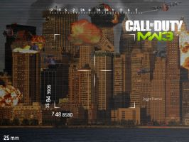 MW3 Wallpaper re-edit by HumanCalcuIat3r