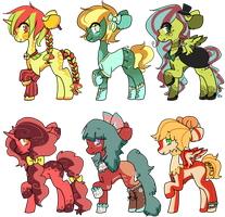 collab pony adopts [OPEN] by togekissuadopts