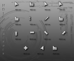Cursors HD100 by Hard-100