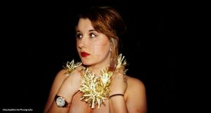 Christmas Self Portrait by KayleighBPhotography