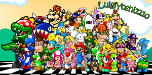 Mario Characters Chaos! by LuigiYoshi2210