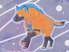 Acid Hyena :Trade: by CanineHybrid