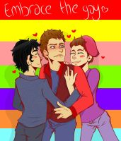 Embrace the Gay by ArtByMomo