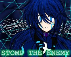 STOMP THE ENEMY Cover- Tsux Namine Astral Append by MewKwota