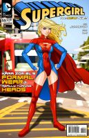 Kclcmdr Commission (Supergirl) by Spacecowboytv