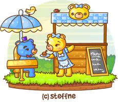 Sunshines Cafe Service by steffne