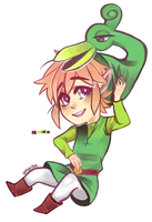 Link and Ezlo by amarilloh
