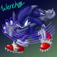 Sonic - Werehog by Kasurii