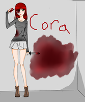 my oc cora by teiro-nell