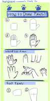 Paw Tutorial by thatWeasel
