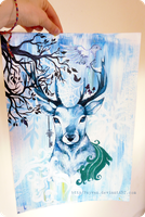 King of the Snow Forest by Fayven