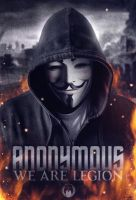 Anonymous - We are Legion by DixoAnon