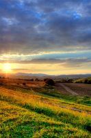 Sunset of Zilina by YannisZA