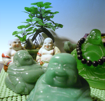 Land of the happy Buddhas by Wretched--Stare