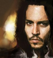 Johnny Depp, Portrait. by Sweetcidia