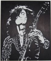 Jimmy Page by Bewilderbeast
