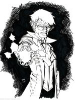 Inktober 2015 No Mercy Percy by AndrewScottKeller