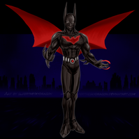 Batman Beyond Armor by slifertheskydragon