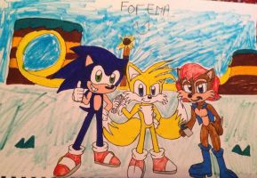 Team Sonic (by Reece) by mastergamer20