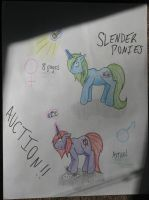 CLOSED Slender Game Ponies Auction~ by DJ-Sky-Storm-117