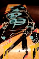 Death Rabbit SK8 Deck 3 by JimMahfood-FoodOne