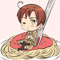 Romano on top of pasta by maybebaby83
