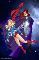 Blackstarr defeats Supergirl - by mhunt