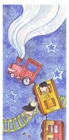 The Mysterious Train- LevinaLeo by childrensillustrator
