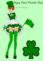 Holly Happy St. Patrick's Day by SnowyBubbles