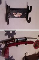 Dollhouse wall-mounted sword by fiat500S