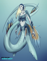 Mermaid Concept CB by Project-KMR