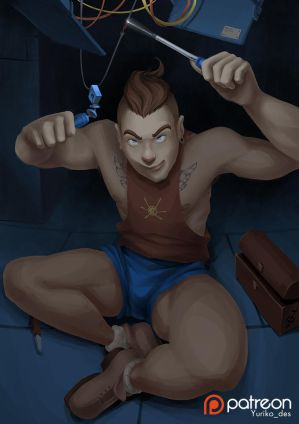 Jimmy Neutron Grown-up version \with timelapse vid by Jorn-Siberian