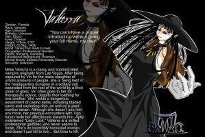 Character Profiles - Valterra by Thats-Your-Funeral