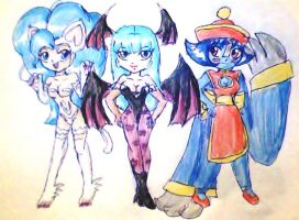 monster girls by ninpeachlover