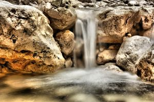 waterfall HDR by QuiZ04291993