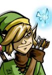 Link from Legend of Zelda card by DustinEvans