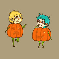 pumpkins shouldn't be so sassy by sharkteefs