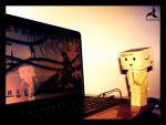 danbo in my computer by jostikero