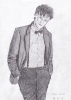 The Eleventh Doctor by poetxonxjunex91
