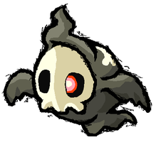 Duskull by Gymnotide