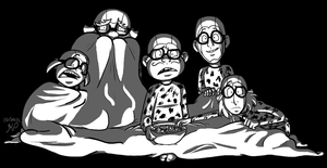 Gargantuan Blanket Scary Movie Pajama Night!!! by Nintendo-Nut1