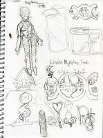 Scratch'n'Sniff Sketchbook Page 17 by KatrinaTheLamia