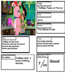 Pros and Cons: Tufflips Tales of Terror by Spongey444
