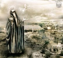 The peace of Jerusalem by CAT-GIRL-Q8