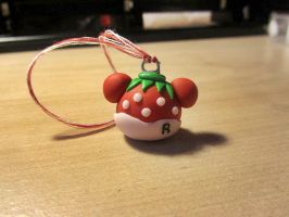 Strawberry Rilakkuma Charm~ by FeatherLetters